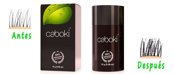 Fibras capilares Caboki, Colores Precios y Tiendas Online