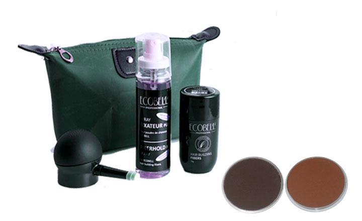 Fibras Capilares Ecobell, el maquillaje capilar más práctico