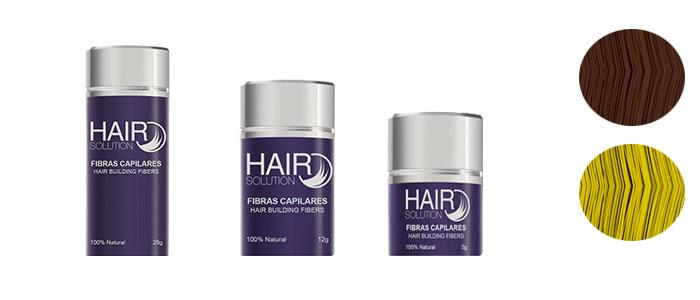 Fibras capilares Hair solution