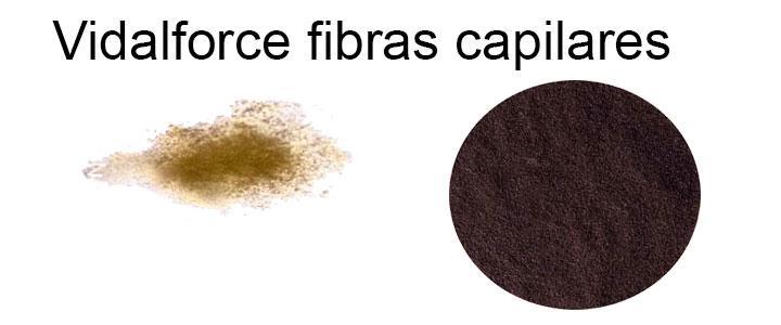 Diferencias de las fibras capilares Vidalforce y Toppik