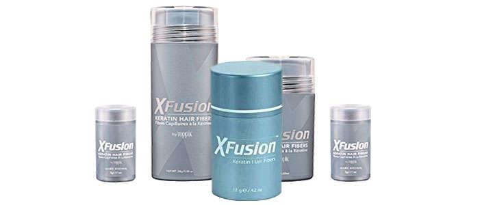 X Fusion, fibras capilares de Toppik para profesionales contra la alopecia