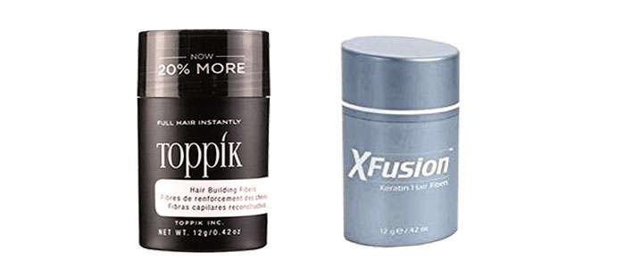 comparativa microfibras x fusion vs toppik